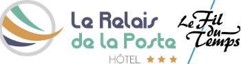 Logo hotel relais poste fil du temps